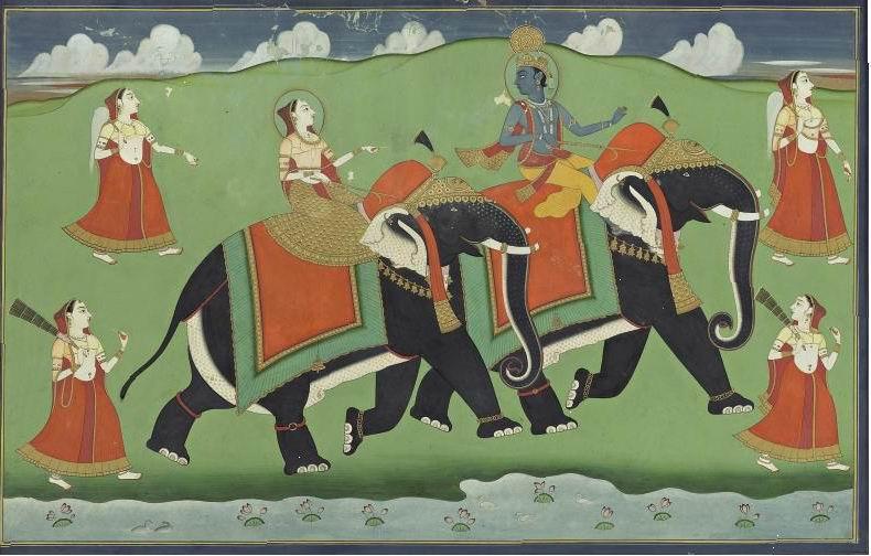 Jaipur_Krishna_Radha_elephants