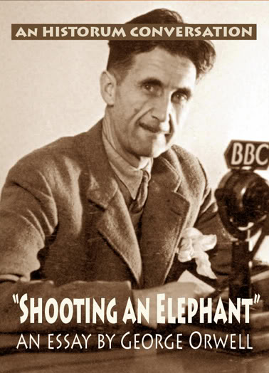 shooting an elephant orwellcovercopy